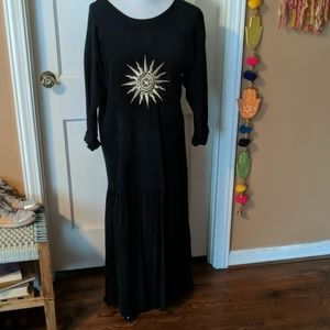 Gently uses Johnny Was tee-shirt dress (vintage)
